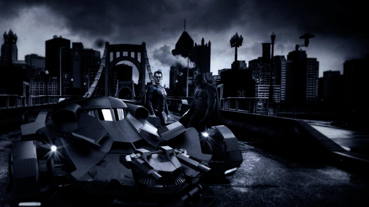 BatmanvSuperman bridge by djpyro229