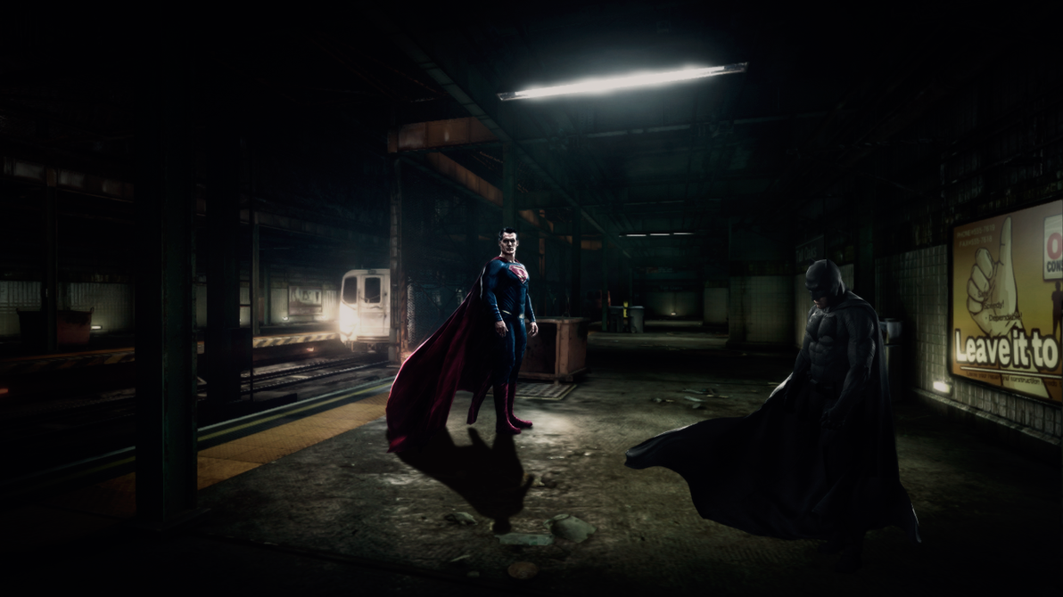 BvS station by djpyro229
