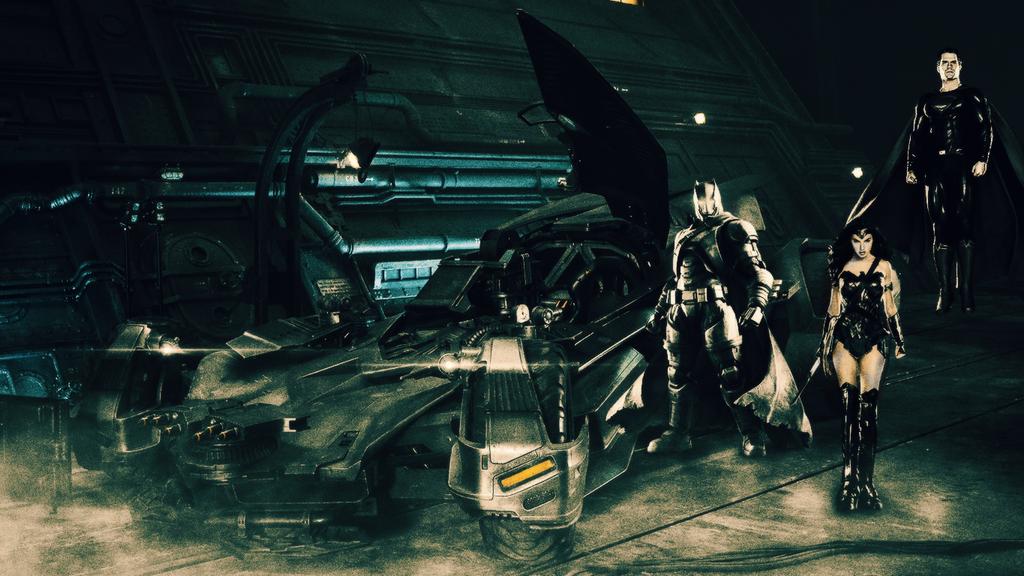 Justice League Trinity by djpyro229
