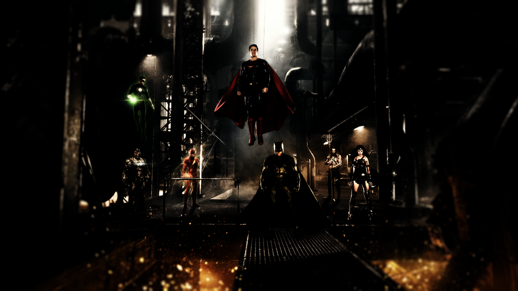 JusticeLeague Unite by djpyro229