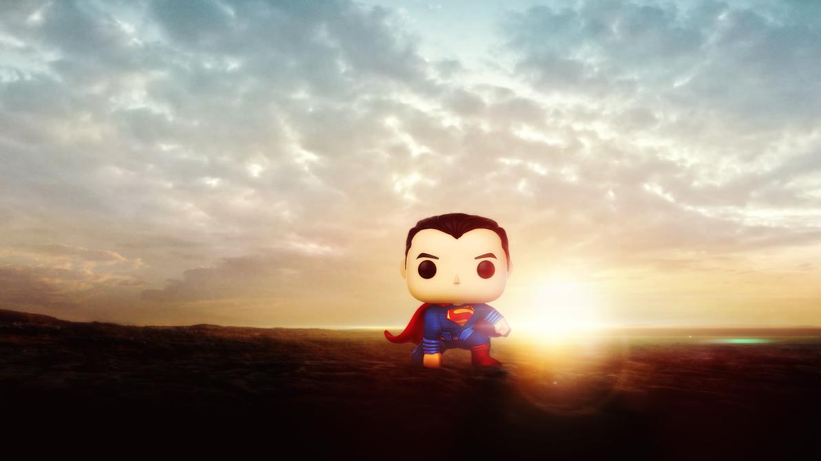 Superman FunkoPop by djpyro229
