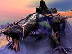 Dragonrider by kittenwylde