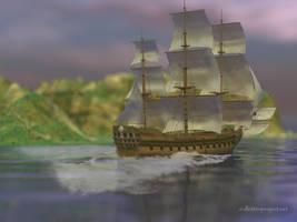 Sailing Away by kittenwylde