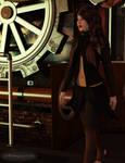 Random Steampunk Girl