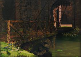 Under The Bridge by kittenwylde