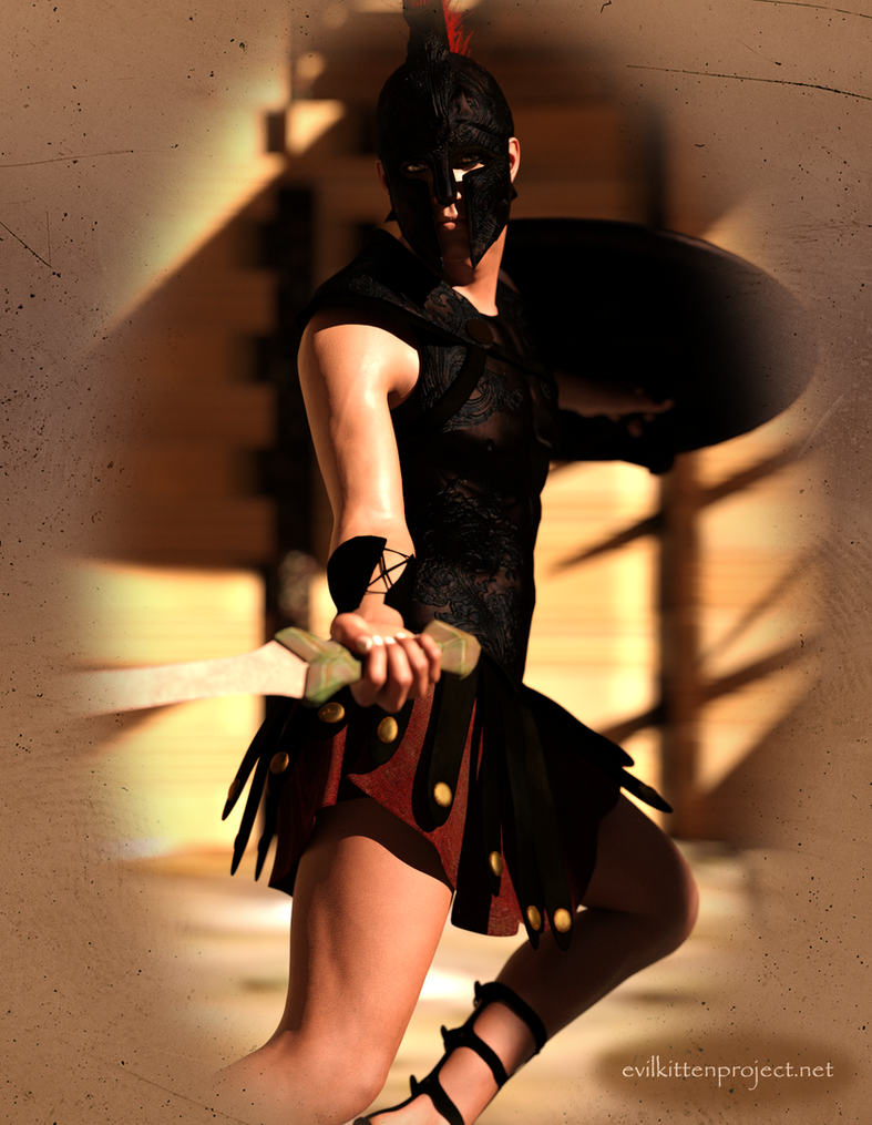 Gladiator by kittenwylde
