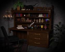 Writer's Room by kittenwylde