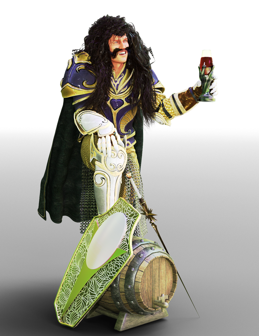 Knight of the Grape by kittenwylde