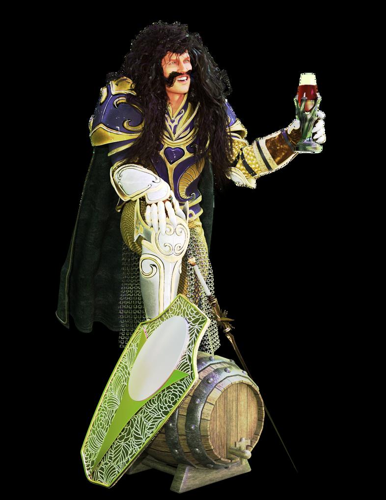Knight of the Grape by kittenwylde