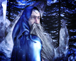 Old Man Winter by kittenwylde