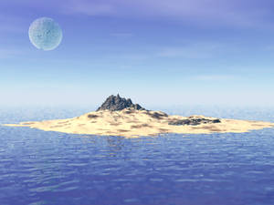 Moonisland by kittenwylde