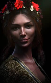 Random Fantasy Portrait: Ellis