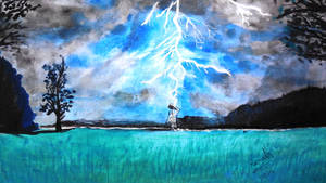 Lightning by the Meadow!!