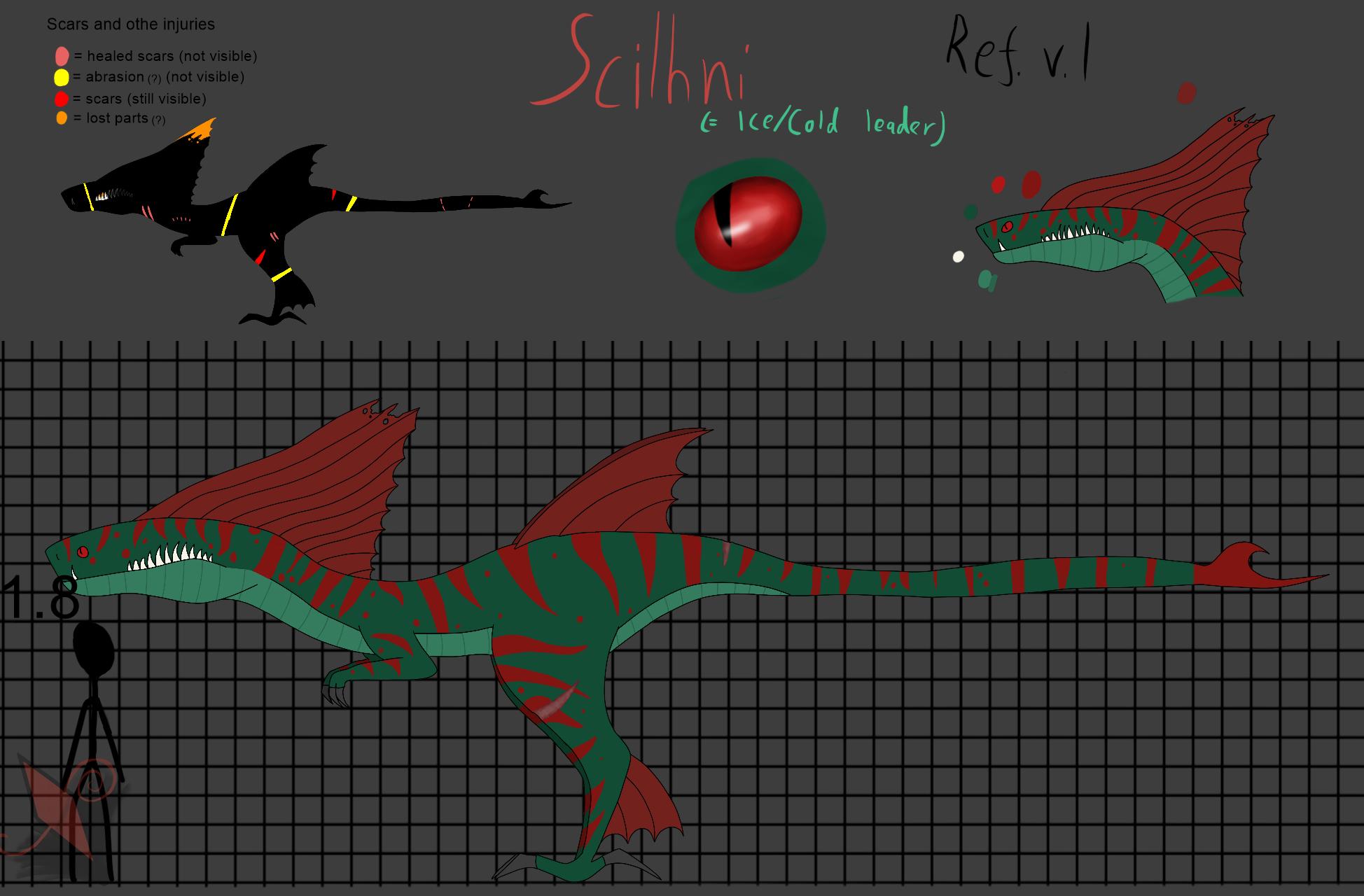 Scilhni reference sheet v.1 by Okamisusi