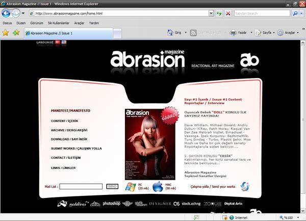 Abrasionmagazine Web by AbrasionMagazine