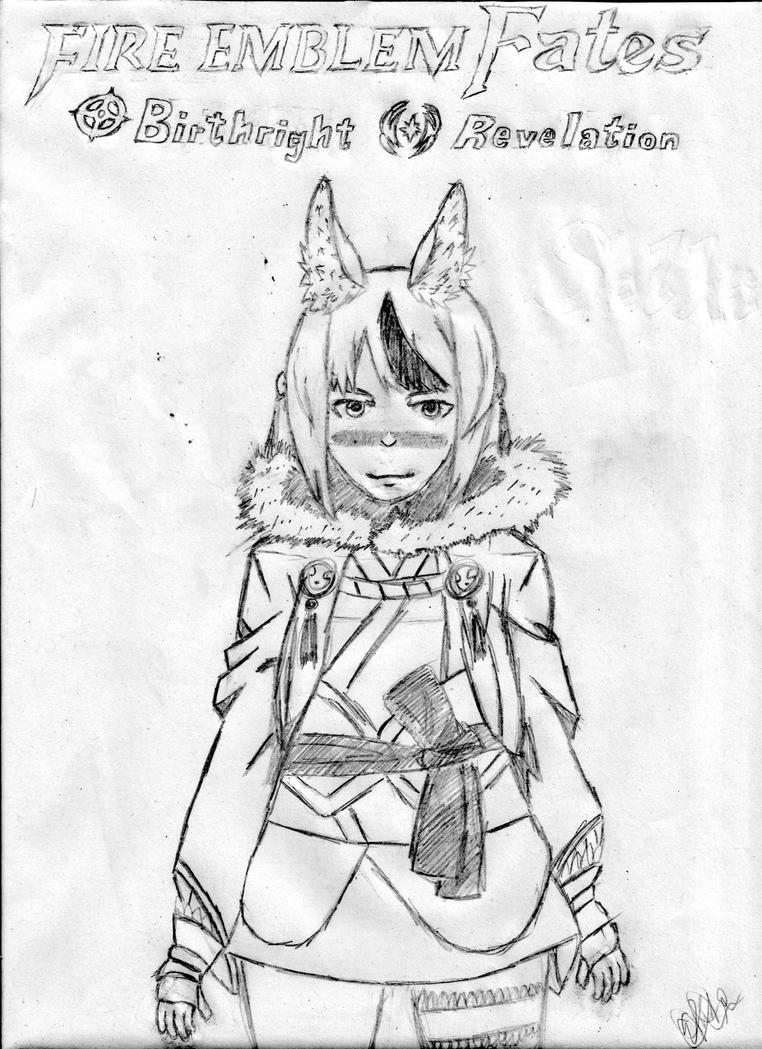 Fire Emblem Fates - Selkie (High Contrast Version) by EthanR27