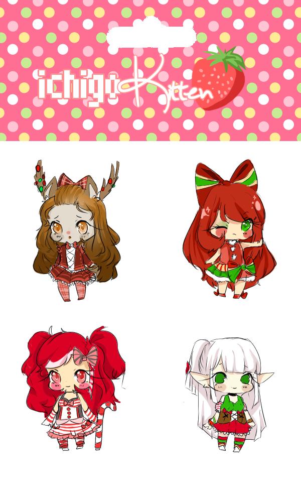 christmas auction . by ichigo-kitten