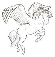 Pegasus Art Trade by ReQuay