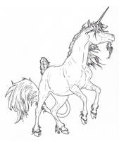 Rearing Unicorn Lines by ReQuay