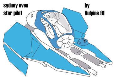 Sydney Oven - Star Pilot by VulpineWarrior-91