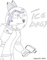 Outworld: Ice Dogs Title by VulpineWarrior-91