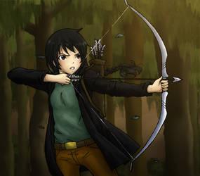 Katniss Everdeen by ichan-desu