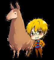 Llama Art2: chibi-challenge by ichan-desu