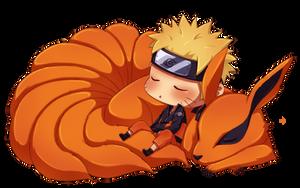 Naruto and Kyuubi by ichan-desu