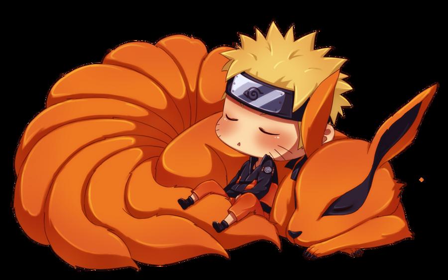 Uzumaki Naruto FC - Página 4 Naruto_and_kyuubi_by_ichan_01-d3d15q8