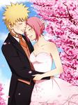 NaruSaku Wedding by ichan-desu