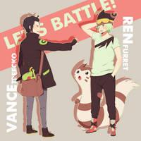 Let's battle by ichan-desu