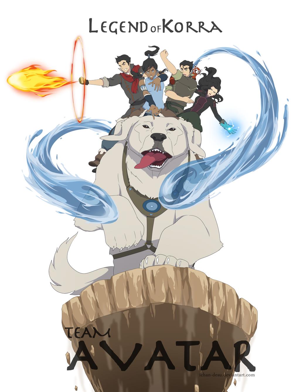 Legend of Korra Team Avatar