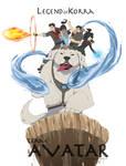 Legend of Korra: Team Avatar