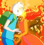 Adventure Time: Burning Low by ichan-desu