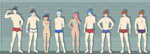 What's your height batch 2 by ichan-desu