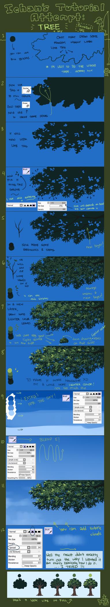 Tutorial Attempt: Tree (Updated) by ichan-desu