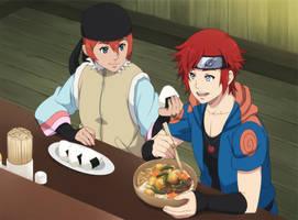 Uhmm betch I'm eating here... by ichan-desu