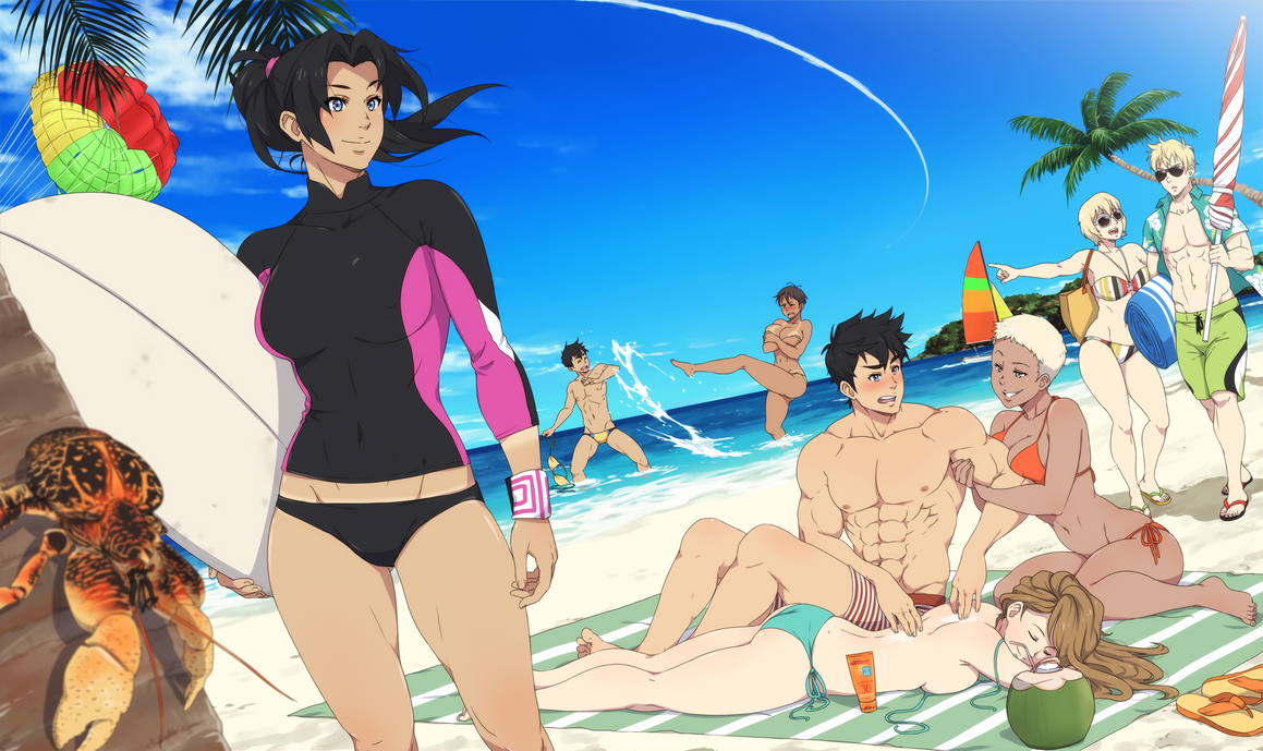 Son of a beach by ichan-desu