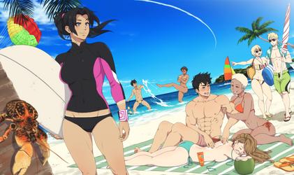 Son of a beach by ichan-desu