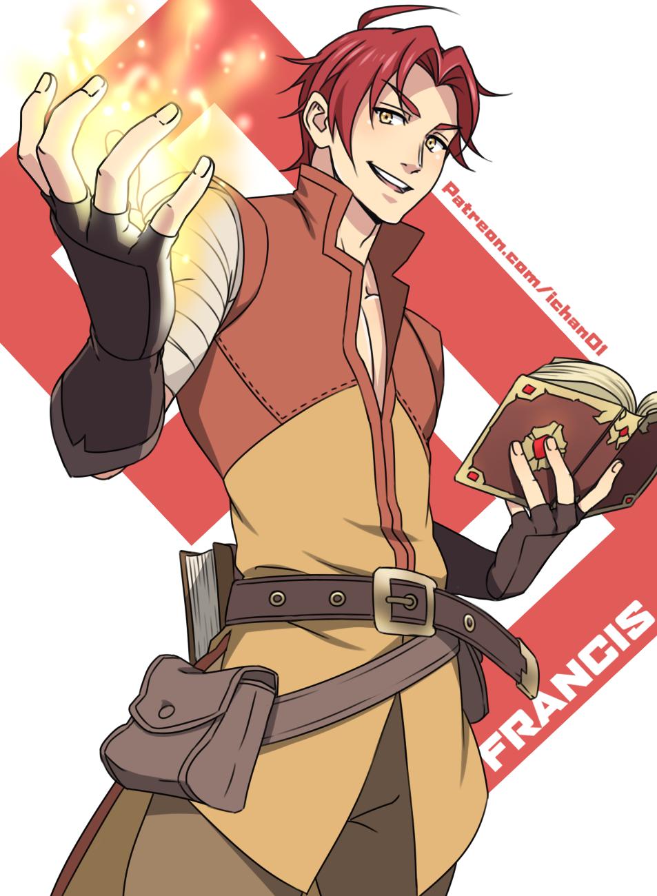Francis by ichan-desu