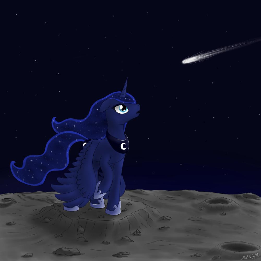 Princess Luna by maxca