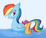 Duck ponies