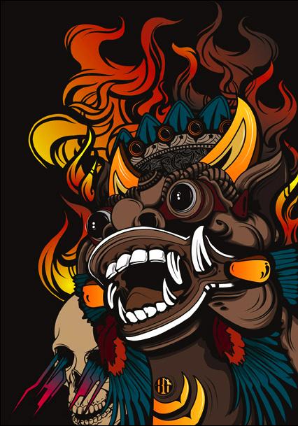 Fire temple Rider