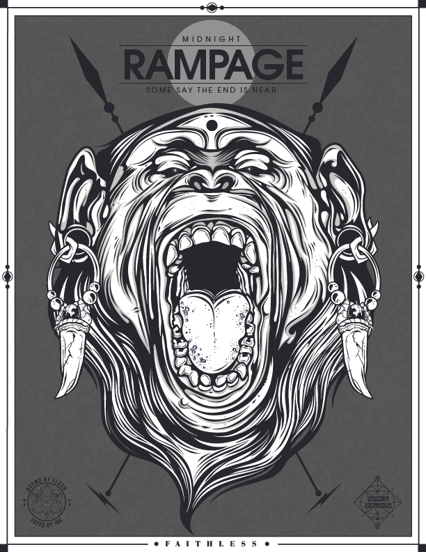 RAMPAGE by jfe