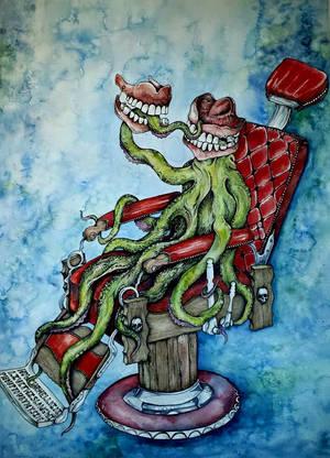 Dentist by BenBoyceArt