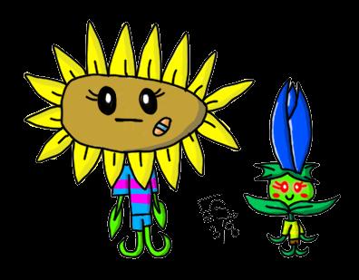 Plants on Plants-Vs-Zombies - DeviantArt