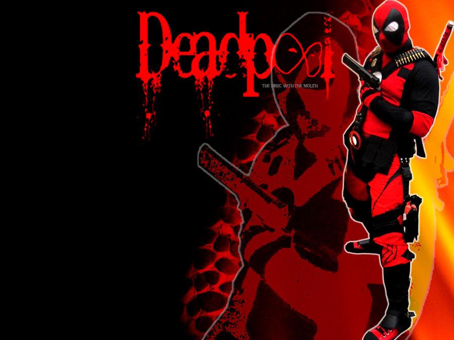 awesome deadpool wallpaper by dpforprez on deviantart