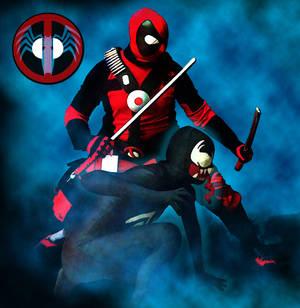 Venom and Deadpool BFFs
