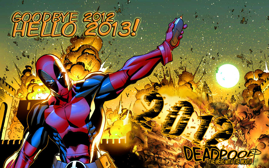 Goodbye 2012 by DPForPrez