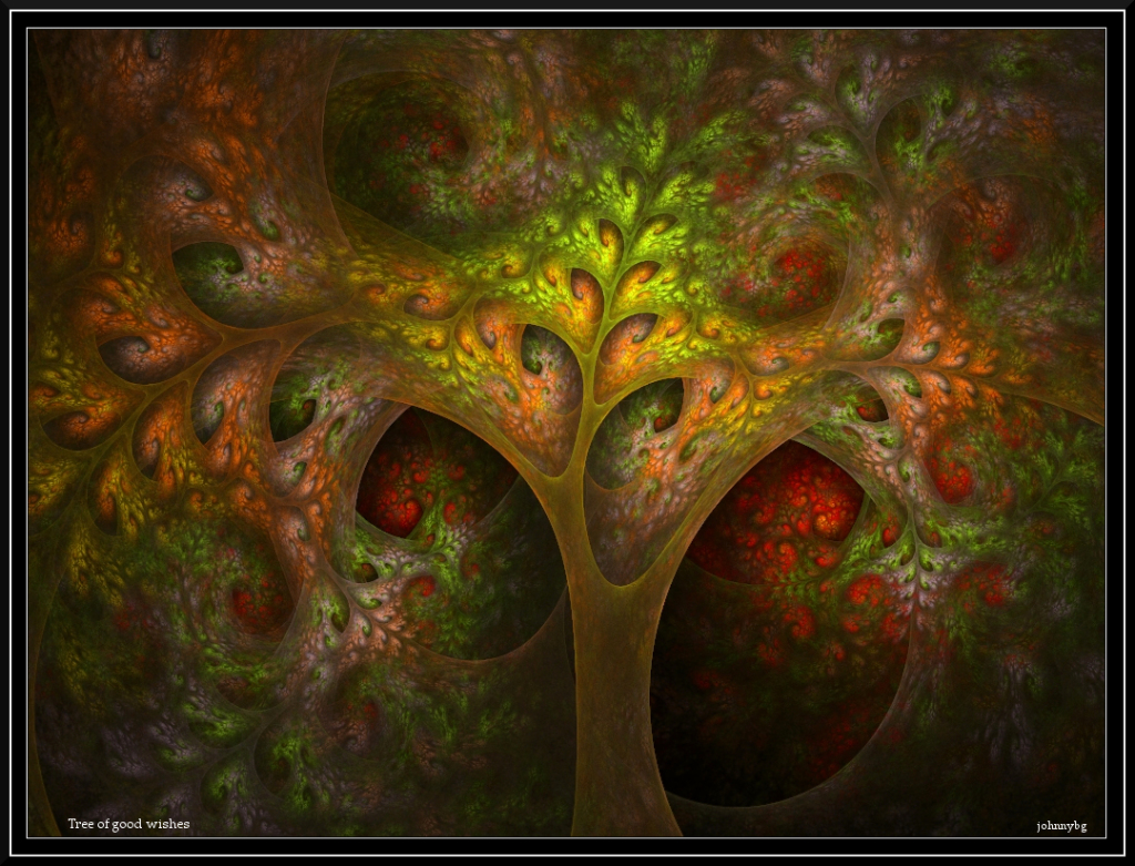 Tree of good wishes by johnnybg